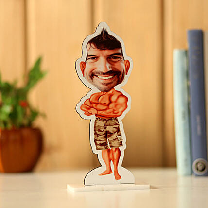 Online Personalised Body Builder Caricature:Personalized Caricature