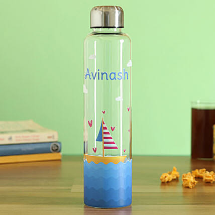 personalised glass bottle:Water Bottles Gifts