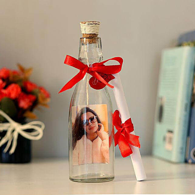 Personalised Bottle Of Love