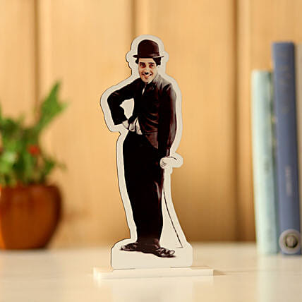 Online Personalised Charlie Chaplin Caricature:Send Caricatures