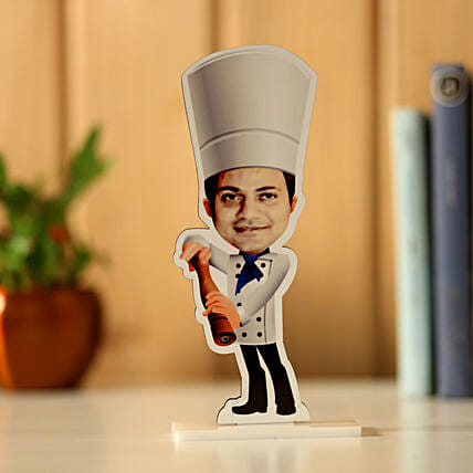 Online Personalised Chef Caricature:Send Caricatures