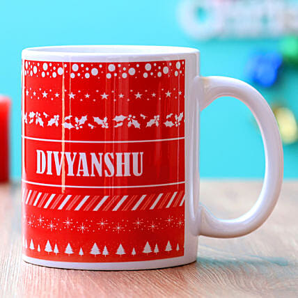 Personalised Christmas Special Mug Hand Delivery