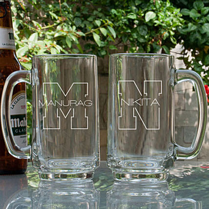 Customised Beer Mug For Her:Bar Accessories