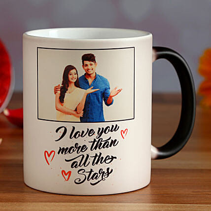 online vday theme coffee mug:Send Valentine Personalised Gifts