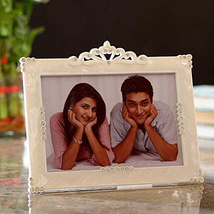 Personalised Designer Border Photo Frame