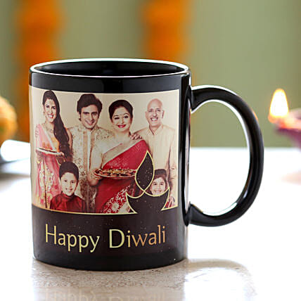 photo printed coffee mug for diwali