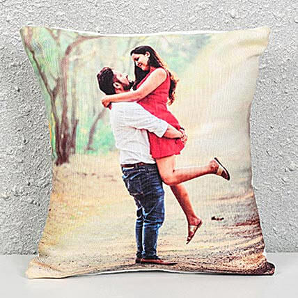 Lovely Customize Cushions:Send Gifts For Kiss Day