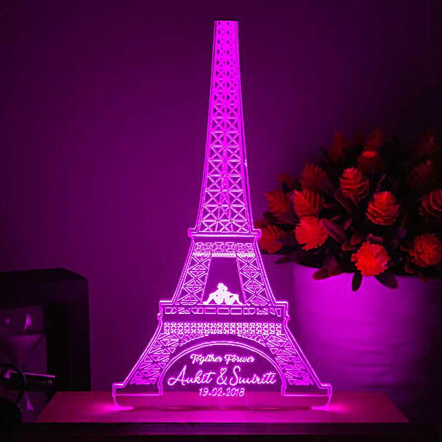 online eiffle tower shape led night lamp online