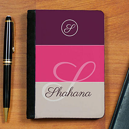 Personalised Elegant Passport Holder