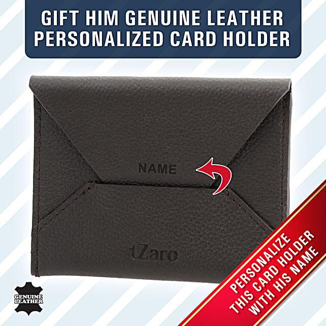 envelop shaped card holder