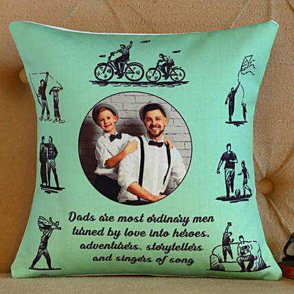 Personalised Fathers Day Cushion