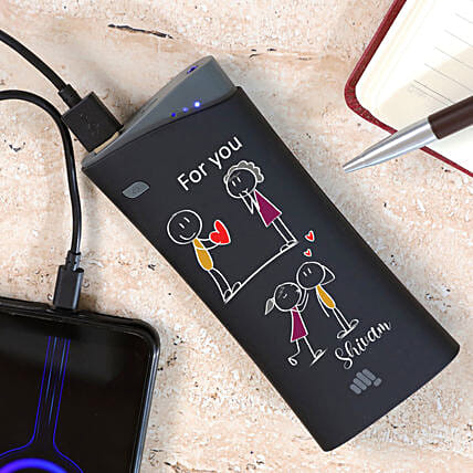 Personalised For Love Micromax Power Bank:Electronic Gifts