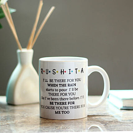lovely printed mug:Gift for Girlfriend Day