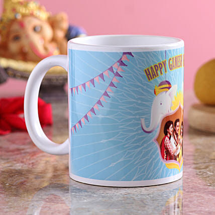 Personalised Ganpati Greetings Mug