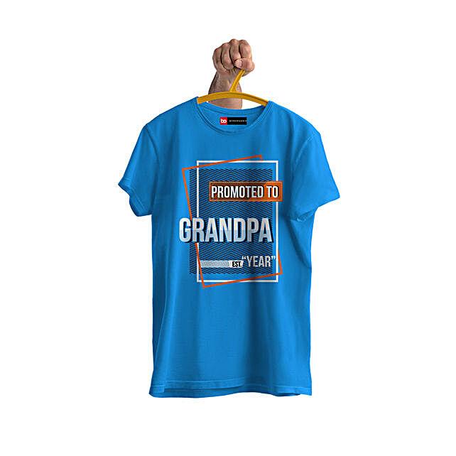 Online Personalised Grandpa Tshirt:Send Personalised Tee Shirts