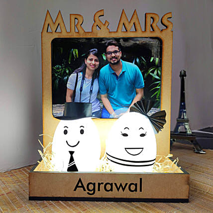 personalised lamp for couple