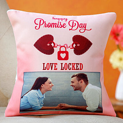 printed cushion for promise day