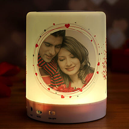 personalised bluetooth led speaker online:Personalised Gadgets