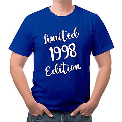 Personalised Limited Edition Cotton T shirt:Personalised T Shirts
