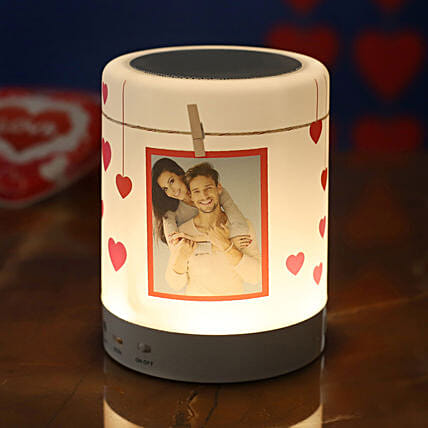 personalised bluetooth led speaker:Personalised Electronic Gadgets