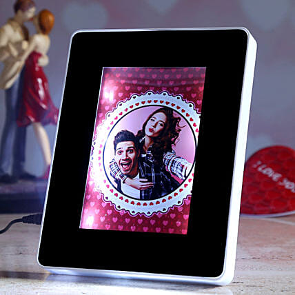 online personalised magic mirror for vday:Personalised Photo Frames