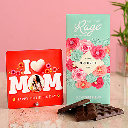 Personalised Love Mom Table Top Chocolate:Gift Combos For Mothers Day