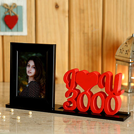 Customise Love U Printed Table Top Online:Personalized Photo Frames