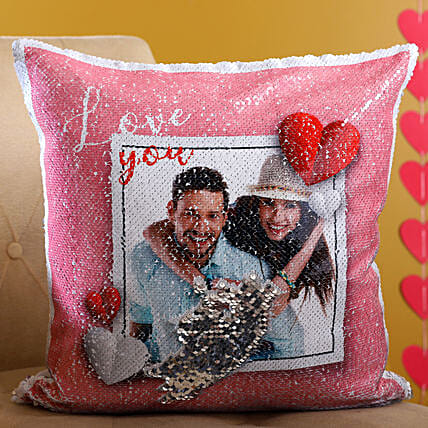 Customised Love Couple Cushion