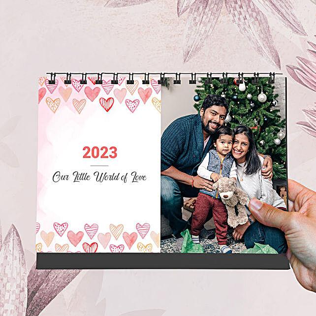 Personalised Lovely Family Calendar