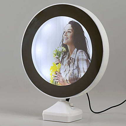 customized magic mirror:Personalised Lamp