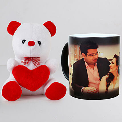Personalised Magic Mug n Teddy