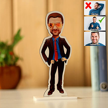 Online Personalised Man Caricature