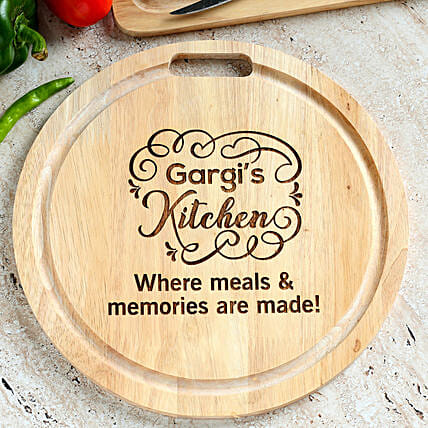 online personalised chopping board