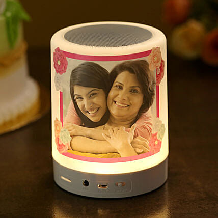 Personalised Mother s Day Bluetooth LED Speaker