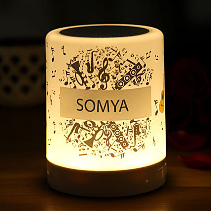 Personalised Musical Bluetooth LED Speaker:Personalised Speakers