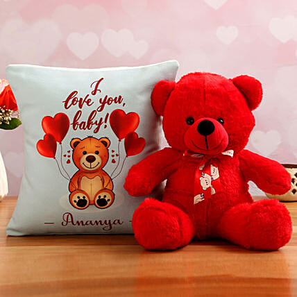 teddy day theme personalised goodies:Soft Toy