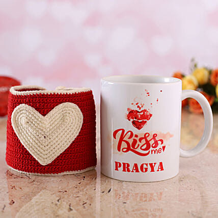 personalised mug with love cover