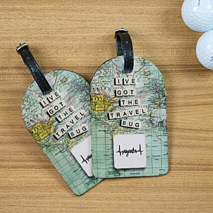 Personalised Names Luggage Tags