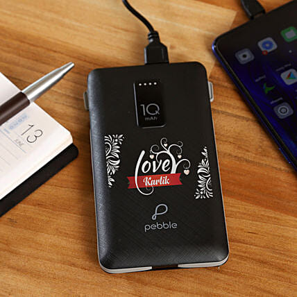 personal touch power bank for her:Personalised Power banks