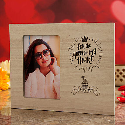 vday theme photo frame for her