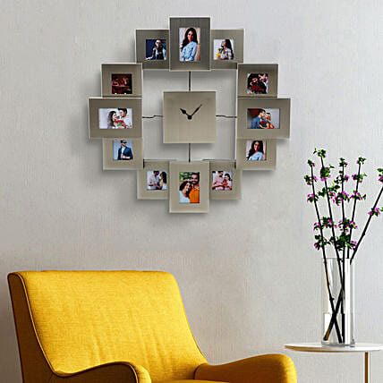 Online Personalised Photo Hour Wall Clock