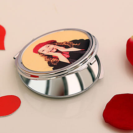 personalised pocket mirror online