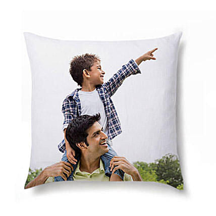 Personalised Picture Cushion For Dad