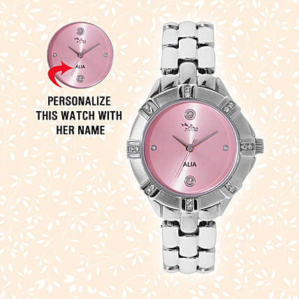 Pink Watch For Her:Watches for Her