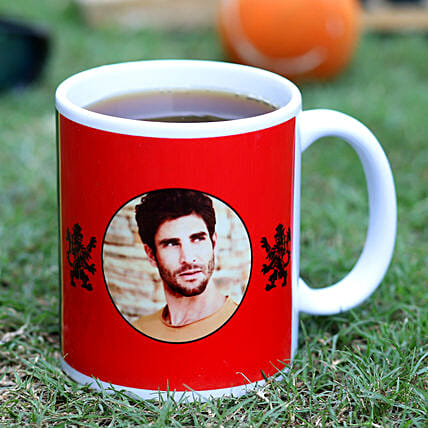 Personalised RCB Fans Ceramic White Mug Hand Delivery