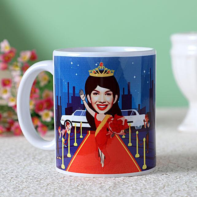 online caricature coffee mug online