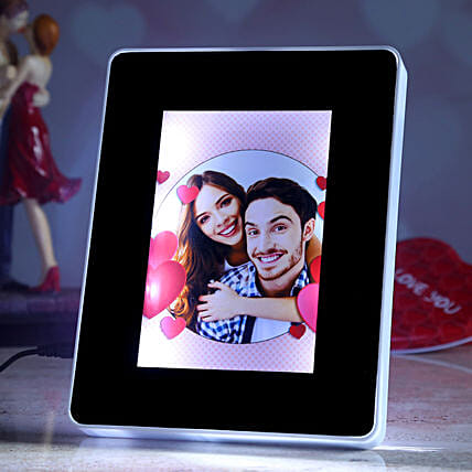 valentine theme personalised magic mirror online
