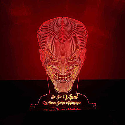 Led Joker Night Lamp:Halloween Gifts