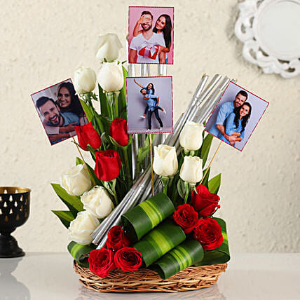 Online Customised Mix Roses Arrangement