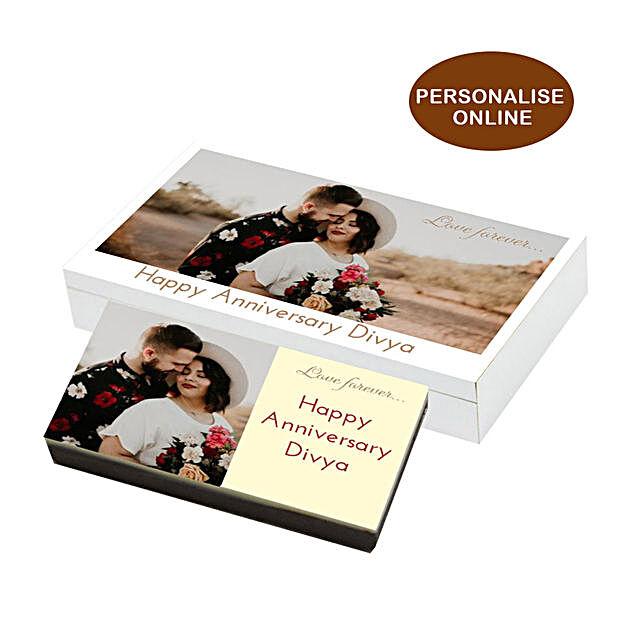 Photo Chocolate Box For Anniversary